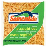 Somerdale Skin On Straight Cut Fried Potatoes, 80 Ounce