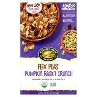 Nature's Path Nature's Path Cereal - Organic Pumpkin Raisin Crunch Flax Plus, 12.35 Ounce