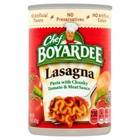 Chef Boyardee Chef Boyardee Lasagna, 15 Ounce
