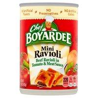 Chef Boyardee Mini Ravioli, 15 Ounce
