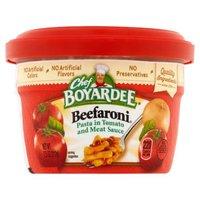 Chef Boyardee Microwaveable Beefaroni, 7.5 Ounce