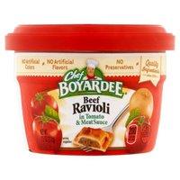 Chef Boyardee Microwaveable Beef Ravioli, 7.5 Ounce