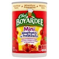 Chef Boyardee Chef Boyardee Mini Bites Spaghetti And Meatballs, 14.5 Ounce