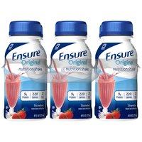 Ensure Nutrition Shake Strawberry, 48 Fluid ounce