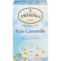 Twinings of London Tea Bags - Pure Camomile Herbal, 1.06 Ounce