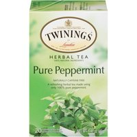 Twinings of London Pure Peppermint Herbal Tea, 1.41 Ounce