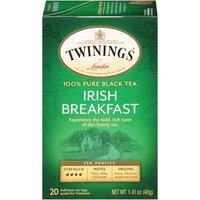 Twinings of London Classics Irish Breakfast Tea, 1.41 Ounce