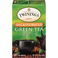 Light flavor strength. 20 Individually wrapped tea bags.