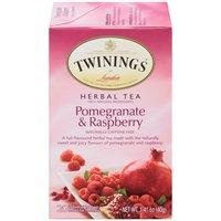 Twinings of London Herbal Tea - Pomegranate & Raspberry,, 1.41 Ounce