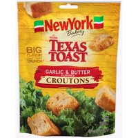 New York The Original Texas Toast Garlic & Butter Croutons, 5 Ounce