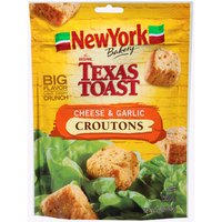 New York The Original Texas Toast Cheese & Garlic Croutons, 5 Ounce