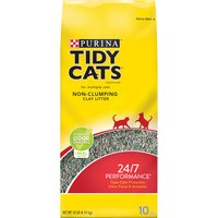 Purina Tidy Cats Non-Clumping Cat Litter Purina Tidy Cats Non-Clumping Cat Litter 24/7 Performance for Multiple Cats 10 lb. Bag, 10 Pound