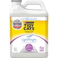 Purina Tidy Cats LightWeight Cat Litter Purina Tidy Cats LightWeight Cat Litter Clean Blossoms Clumping with Glade Odor Solutions, 136 Ounce