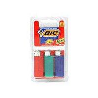 Bic Mini Lighters, 3 Each