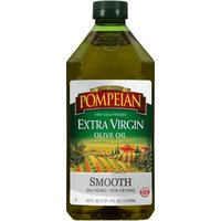 Pompeian Extra Virgin Smooth Olive Oil, 68 Fluid ounce