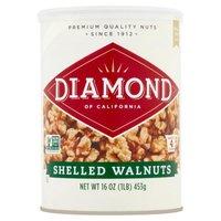 Diamond Shelled Walnuts, 16 Ounce