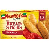 New York Bakery New York Bakery Bread Sticks - Original Garlic, 10.5 Ounce