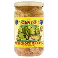Cento Artichoke Hearts - Quartered & Marinated, 12 Ounce