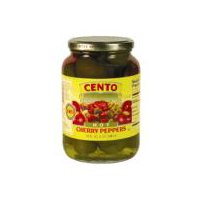 Cento Whole Cherry Peppers, 32 Ounce