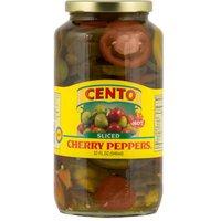 Cento Hot Peppers - Vinegar Sliced, 32 Ounce