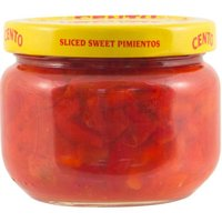 Cento Pimientos-Sliced, Sweet, Red, 4 Ounce