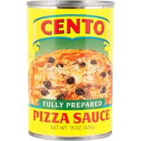 Cento Pizza Sauce - Fully Prepared, 15 Ounce