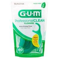 G-U-M G-U-M Professional Clean Flosser, 40 Each