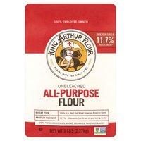 King Arthur Flour All-Purpose Unbleached Flour, 2.27 Kilogram