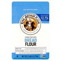 King Arthur Flour Unbleached Bread Flour, 2.27 Kilogram