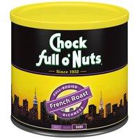 Chock Full O' Nuts Chock Full O' Nuts Ground Coffee - French Roast, 26 Ounce