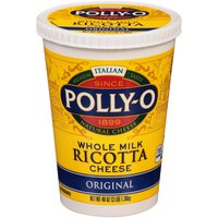 Polly-O Cheese - Ricotta Original, 48 Ounce