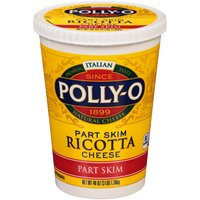 Polly-O Part Skim Ricotta Cheese, 48 Ounce