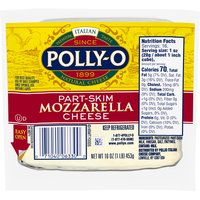 Polly-O Part-Skim Mozzarella Cheese, 16 Ounce