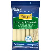 Polly-O Cheese - Snackables String Mozzarella, 340 Gram