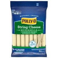 Polly-O Polly-O Cheese - Snackable String Mozzarella, 680 Gram