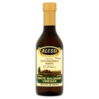 Alessi White Balsamic Vinegar, 8.5 Fluid ounce