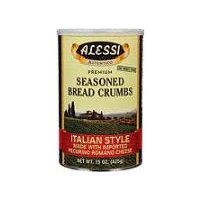 Alessi Italian Style Seasoned Bread Crumbs, 15 Ounce