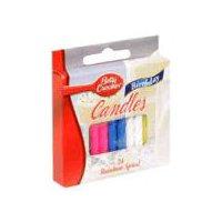 Betty Crocker Birthday Candles - Rainbow Spiral, 24 Each
