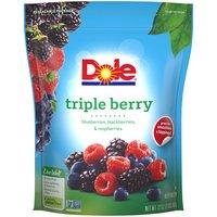 Dole Triple Berry Frozen Fruit, 2 Pound