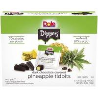 Dole Dole Frozen Pineapple Dippers, 6.36 Ounce