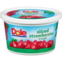 Dole Sliced Strawberries in Sugar, 16 Ounce