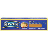 Ronzoni Spaghetti - Thin, 454 Gram