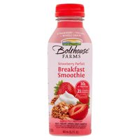 Fruit, yogurt and whole grain smoothie. 10 g protein. 21 vitamins and minerals per bottle. No high fructose corn syurp. High in Vitamins A, C, E and calcium. Good source of fiber.