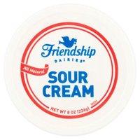 Friendship Sour Cream, 8 Ounce