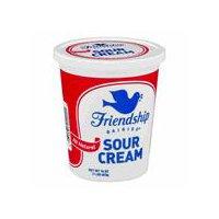 Friendship Dairies All Natural Sour Cream, 16 Ounce