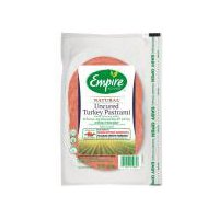 Empire Kosher Empire Kosher Natural Uncured Turkey Pastrami, 7 Ounce