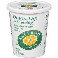 Axelrod Dip & Dressing - Onion, 16 Ounce