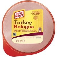 Oscar Mayer Oscar Mayer Turkey Bologna Cold Cuts, 16 Ounce