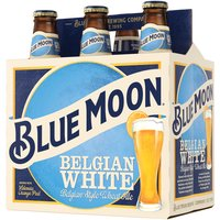 Blue Moon Belgian White Ale 6 Pack, 12 oz Bottles, 72 Fluid ounce