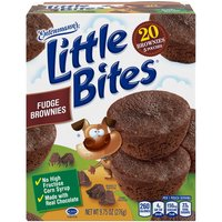 Got a snack attack? Grab Little Bites Brownies and tame that sweet tooth! Made with RealChocolate, No High Fructose Corn Syrup and No Artificial Colors.